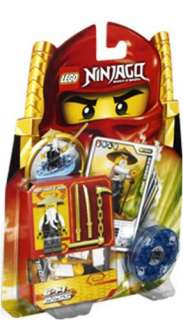 Lego NINJAGO 2255 Sensei Wu Spinner Factory Sealed