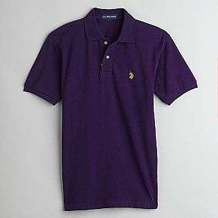 Players Edition Mens Short Sleeve Polo Shirt  US Polo Assn. Clothing