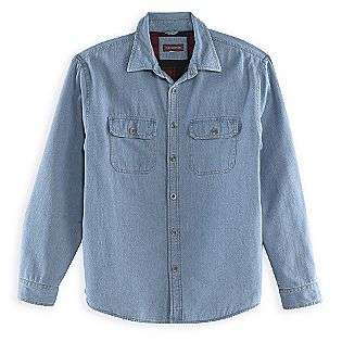 Fleece Lined Denim Shirt Jacket  Covington Clothing Mens Shirts