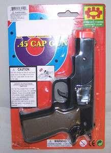 45 PLASTIC SHOOTER play toy gun boy TOYS new pistol kids noise maker