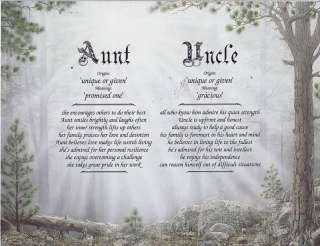 NUMBER 1 UNCLE Poem Personalized Prayer Cave Print Name