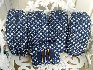 VERA BRADLEY Golf Club Covers & Tee Case NANTUCKET NAVY New, Rare