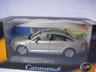 Audi A6 champagne bubble color Cararama Diecast Car Model 124 1/24