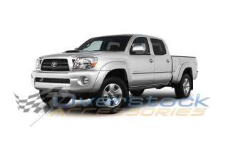 2005 2011 Toyota Tacoma Double Cab 4in Stainless Oval Side Rail Step