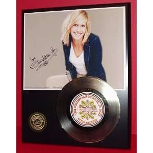 OLIVIA NEWTON JOHN GOLD RECORD LIMITED EDITION DISPLAY
