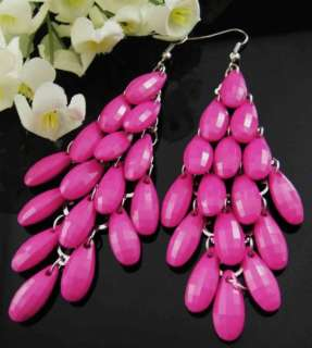 Wholesale Lots 5 Pairs Beads Dangle Earrings EI38 S10