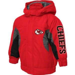 Kansas City Chiefs Youth Red Reebok NFL Midweight Jacket