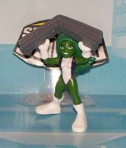 MARVEL SUPER HERO SQUAD SHE HULK LOOSE
