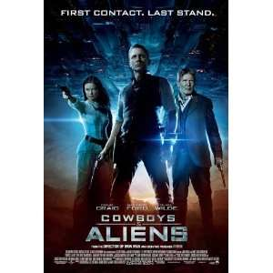 & Aliens Poster Movie E 11 x 17 Inches   28cm x 44cm Olivia Wilde