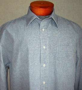 VERY NICE MENS  BROADCLOTH DRESS SHIRT 16 35