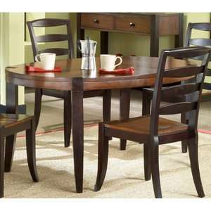 Hillsdale Casa Blanca Wood Oval Dining Table
