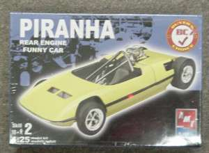 PIRANHA FUNNY CAR AMT Model plastic car kit
