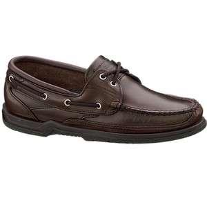Sebago Mens Dark Brown Casual Boat Shoes Schoodic B70829
