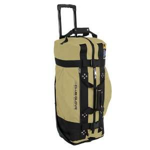 New Club Glove Rolling Duffle Travel Bag Khaki