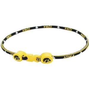 University of Iowa Haweyes 18 Inch Titanium Sport Necklace