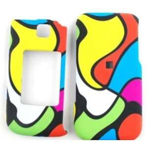 Samsung Zeal/Alias 2 u750 Abstract Color Blocks Hard Case,Cover