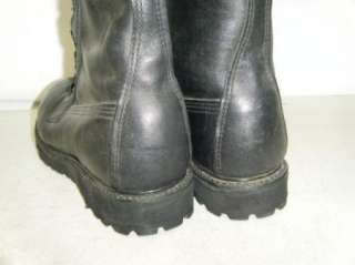 MILITARY Steel Toe Work Boots Size 7 W Mens Used