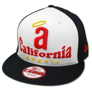 New Era California Angels Retro Bridge Snapback MLB Baseball Cap