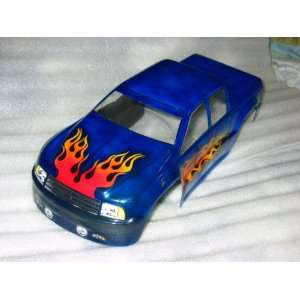 Maxx T Maxx Pro Line Chevy Truck Custom Airbrushed Body: Toys & Games