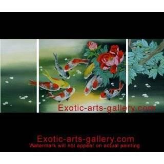 Feng Shui Fish Painting Koi Art Koi Fish Painting 2 464