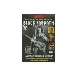 How to Play the Best of Black Sabbath (Guitar World) [DVD