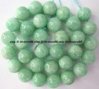 natural green moonstone 11mm Roumnd Gemstone Beads 15