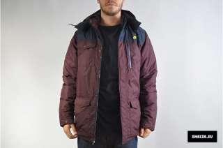 Nike Expedition Jacket Coat 419010 675 Burgundy Dark Obsidian Red