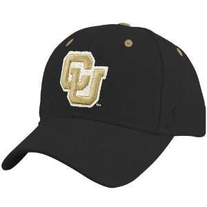 Zephyr Colorado Buffaloes Black DH ZFit Hat  Sports