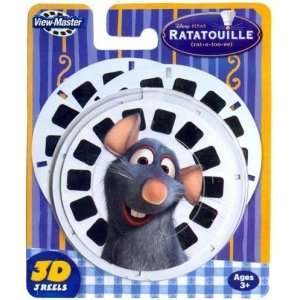 View Master 3 Pack Reels Ratatouille Toys & Games