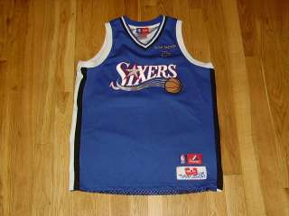 MAJESTIC ALLEN IVERSON SIXERS 76ERS #3 YOUTH RC JERSEY