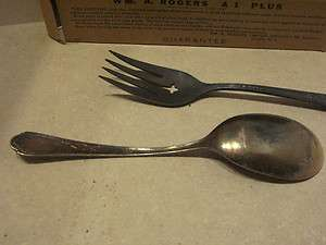 Vintage WM A Rogers A1 Plus Oneida LTD Silver Flatware