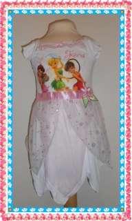 DISNEY Fairies Tinkerbell Kostüm / Nachthemd Gr.92/98