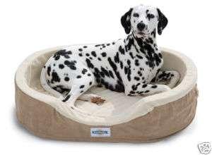 PetSafe Heated Wellness Sleeper Dog Pet Bed Large