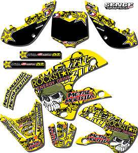 1999 2000 SUZUKI RM125 RM 125 GRAPHICS KIT 99 00 DECALS DECO STICKERS