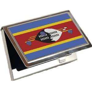 Swaziland Flag Business Card Holder Office Products