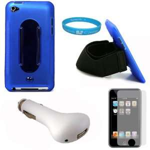 Royal Blue Rubberized Protective Silicone Skin Cover Case