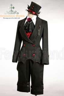 Gothic Punk Dandy Ouji Bat Coattail Jacket*1 color Instant Shipping