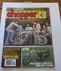 June 1978 Chopper Magazine In like New Condition