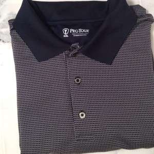 XXL   Pro Tour Mens Performance Golf Polo Short Sleeve Shirt   PERFECT
