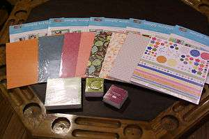 StampinUp Retired, NEW Designer Paper, Simply Scrappin, In Color 6x6