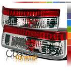 83 87 COROLLA TRUENO AE86 HATCHBACK RED/CLEAR TAIL LIGHTS PAIR SR5 GTS