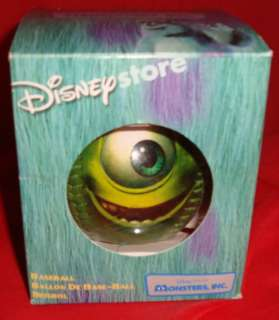 Monsters INC Mike Wazowski Baseball RARE