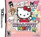 Hello Kitty Party (Nintendo DS, 2009) new sealed game