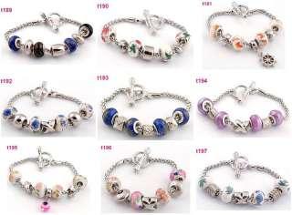 European style special clasp charm bracelet t189 197