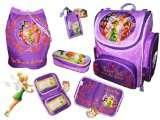 Disney Fairies TINKERBELL Schulranzen Ranzen Set 5 tlg