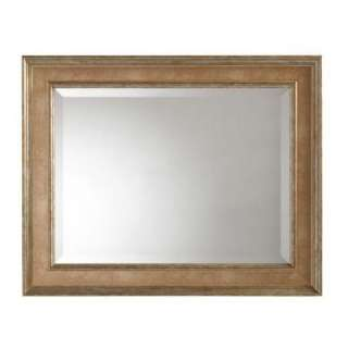 Stewart LivingLucerne 30 in. x 24 in. Framed Mirror in Antique Pewter