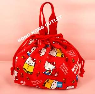 HELLO KITTY Bento Lunch Box Bag Sanrio C26c
