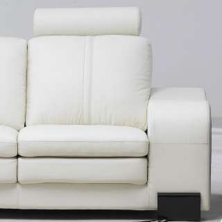 Leather Living Room  on Contemporary White Leather Living Room Couch  Chair  Ottoman Loveseat
