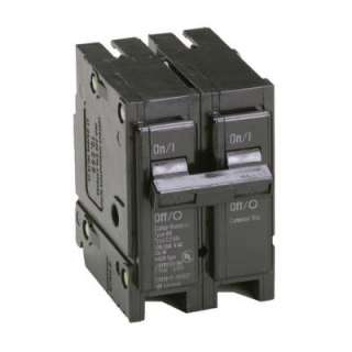 Hammer50 Amp 2 in. Double Pole Type BR Replacement Circuit Breaker