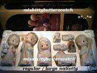 Precious Moments~ NATIVITY ~RARE~E 2800~1st Mark~NO MK